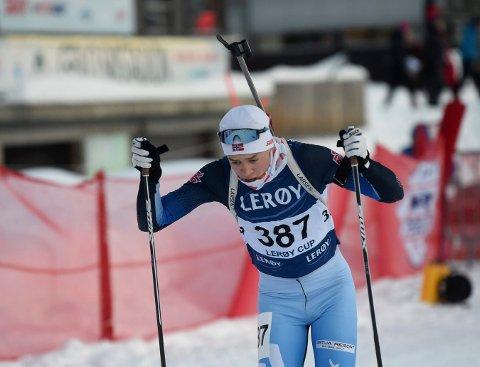 PÅ PALLEN: Vemund Kragh tok bronse på fellesstarten og sølv på sprinten i junior-NM.