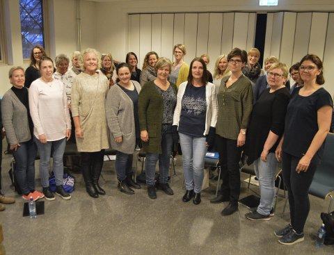Konsert: Vocalis (bildet) holder konsert sammen med Norske Kammersangere.
