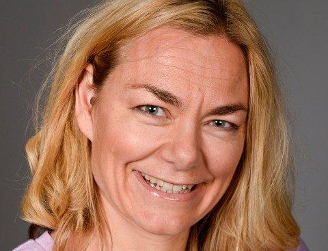 Ellinor Bjerkholt er leder for rehabiliteringssenteret på Coperio , der pskyologene fra mandag jobber fra hjemmekontor.