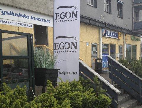 BLIR NY: Om fem uker skal Egon i Sæterkrysset gjenåpnes. Da er den totalrenovert. Foto: Aina Moberg