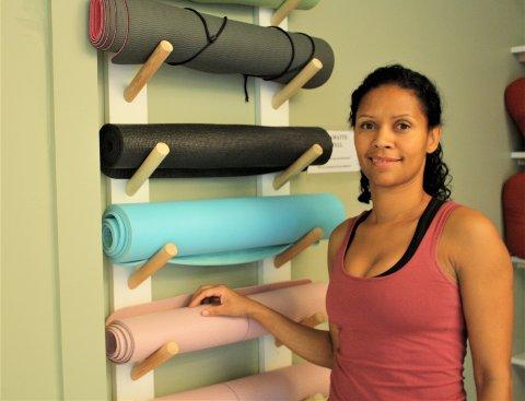 Jenny Vågane jobber fulltid innenfor IT, men har også eget yogastudio på Nordstrand.