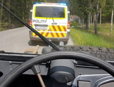 TAUET INN: Arne Andreas Rønning strakk ut hånda og politiet sa ja til å hjelpe.