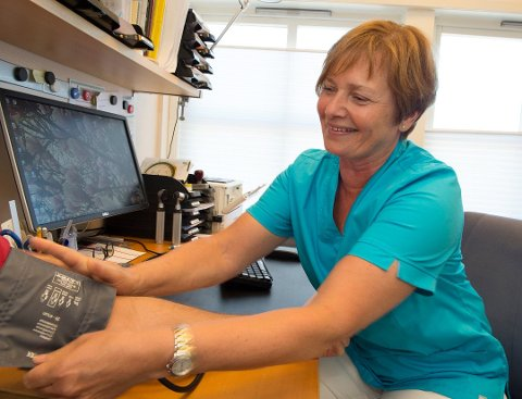 SLUTTER: Bodil Hagen Sægrov er ansatt som sykehjemsoverlege i heldøgnstjenester i Østre Toten kommune.