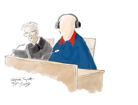 DØMT: Mannen på 86 år er dømt til tre års betinget fengsel. (ILLUSTRASJON: Herb)