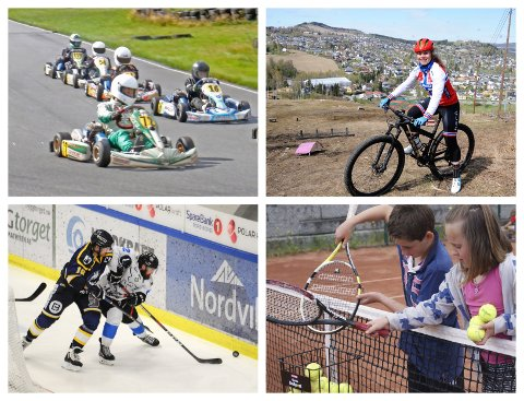 HVEM VINNER FRAM?: Nytt bygg for gocart, sykkelutfor i Hovdebakken, nytt vant i hockeyhallen eller nye gjerder for utendørstennis. Dette er bare fire av 29 søknader om spillemidler i Gjøvik.