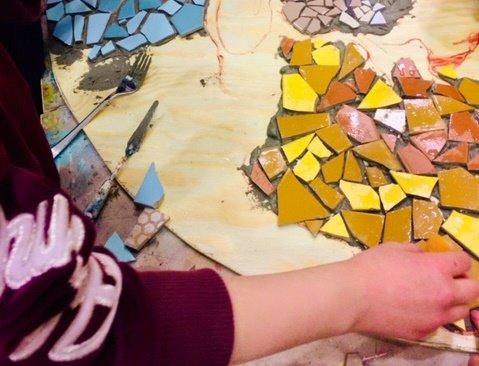 MYSTIKK: Mosaikk er små biter som samlet blir en stor opplevelse. Det kan du også være med på.