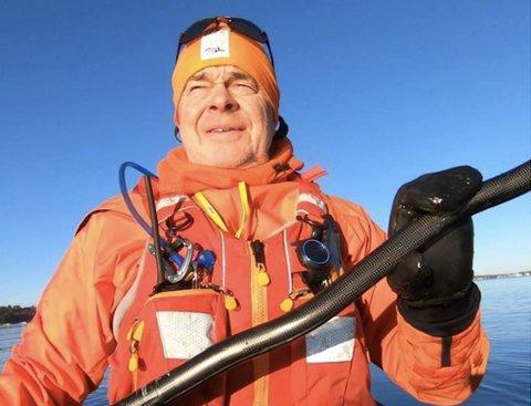 Knut Kjelsås har skrevet klagen på vegne av Havpadlerne Færder.