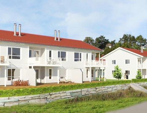 I Amundahagen skal PBBL bygge 14 leiligheter i flerhusbygg. Prosjektet lanseres for salg i mai.
