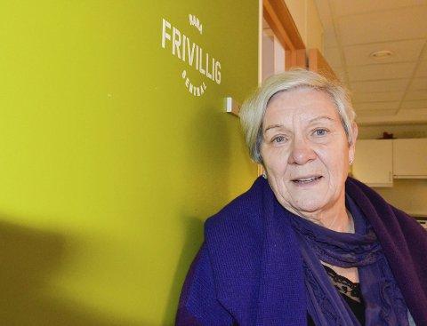 Kandidater: Styremedlem i Rana Frivilligsentral, Mary Ann Dahl, håper på mange forslag. Foto: Toril S. Alfsvåg