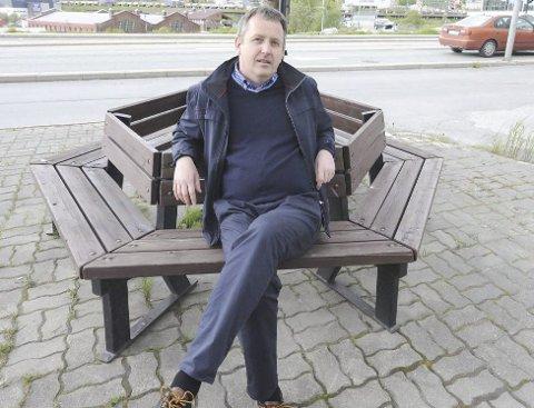 FÅR MAKT: Harald Martin Enevoldsen ble valgt inn i styret i Norges Ishockeyforbund under tinget sist helg. Foto. Kjell Kolsvik