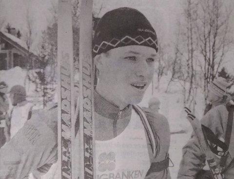1993: Slik så en ung og svært lovende skiskytter Frode Andresen ut i 1993.