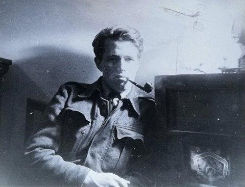 SISTEMANN: Sverre Kokkin var den siste gjenlevende fra sabotasjegruppa Pellegruppa. Nå er han død.