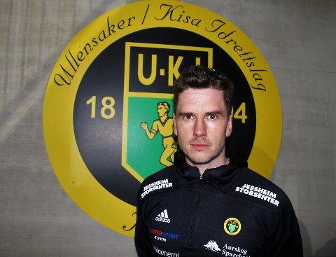 KLAR: Sindre Tjelmeland er til å starte på jobben som ny hovedtrener i Ull/Kisa.