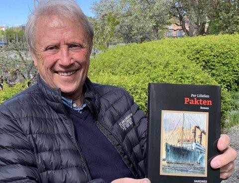 """DEBUTROMAN: Per Lillelien med """"Pakten"""", som handler om maleren Chagalls møte med en norsk modell i New York rett før Andre verdenskrig."""