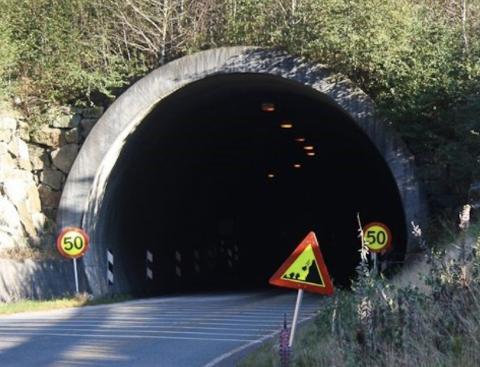 Tunnelen mot Frafjord må oppgraderes og området må sikres mot ras.