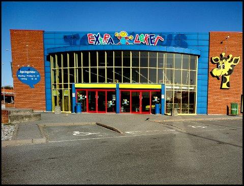 NYTT NAVN: Extra Leker er det nye navnet på leketøysbutikken i tilknytning til Amfi Borg på Alvim.