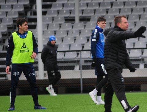 A-TROPPEN: Sigurd Kvale (t.v.) er tatt opp i A-stallen til Sarpsborg 08.