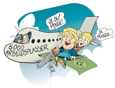 Slik vil det gå dersom flyseteavgiften blir innført som planlagt, ifølge LOs distriktssekretær Ulf Lervik.