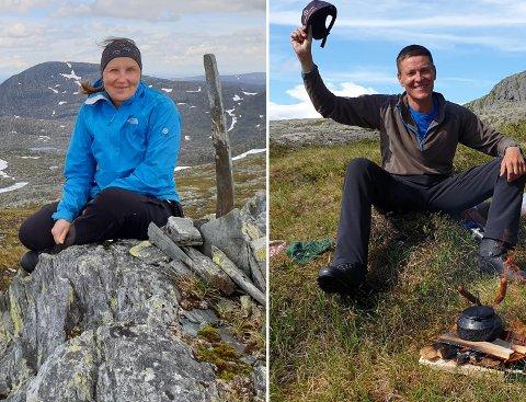 GÅRDEIERE: Karine Jannok og Lars Olav Gravbrøt ser de fram til å overta gården Haugan som de har kjøpt.