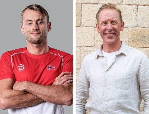 FIKK JA: TV2 har søkt spesielt - og fått ja - til å bruke svensker i TV-programmet som spilles inn i Tinn. Petter Northug og Gunde Svan er programledere.