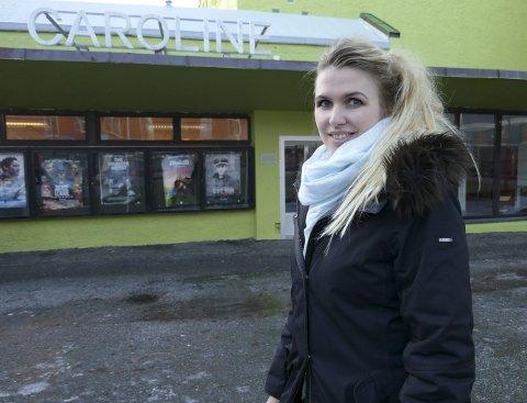 Kinosjef i Kristiansund, Linn Kvalvåg.