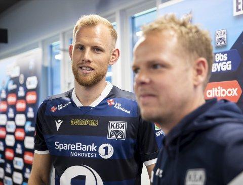 Frihet under ansvar: KBKs lagkaptein Dan Peter Ulvestad og trener Christian Michelsen er helt sikker på at KBK-spillere ikke vil dukke opp på russefest.