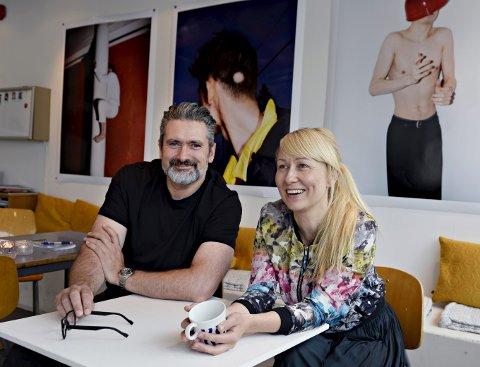 Daglig leder Lise Kristin Kvenseth og styreleder Geir Terje Nergaard er fornøyd med utviklingen i Nordic Light.