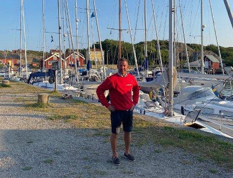 PARADIS: Selv om sommeren består av mye arbeid, beskriver Rune Nilsen de seks ukene på Ramsö i Sverige som en feriedrøm.