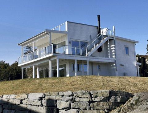 Snudde: Eierne av dette huset, Steinar Kjærnli og kona, har fått medhold i klagen. Arkivfoto