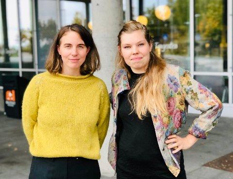 Ragnhild Augustsen og Karoline Birkeli-Gauss har lagd en podkast om Blåbærstien som vil nok kunne glede flere enn de rent arkitekturinteresserte.