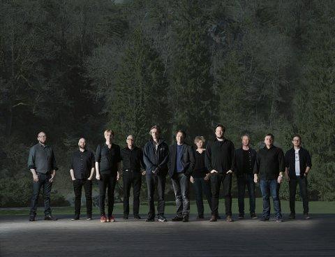 FRA GRENLAND: Scheen Jazzorkester kommer fra Grenlandsområdet.