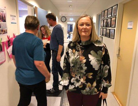 Fylkesleder Mona Nilsen i Nordland Arbeiderparti. Bildet er tatt i en annen forbindelse.