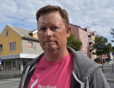 Dommedagsprofetier: Thor Arne Angeslen sitter i bystyret for Bodø Arbeiderparti, og mener opposisjonen stort sett kommer med dommedagsprofetier og innholdsløs retorikk.