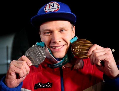 Håvard Lorentzen fikk både sølv og gull i OL, men før sprint-VM i Kina har 25-åringen hatt problemer. (Foto: Lise Åserud / NTB scanpix)