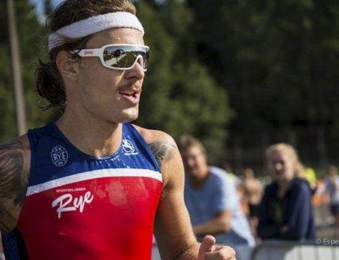 Born to run: Siste etappen og Fredrik Skalstad løper. FOTO: ESPEN LAAVEG