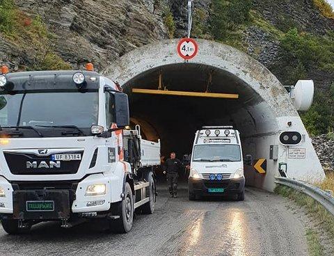 Arkivfoto Skarvbergtunnelen