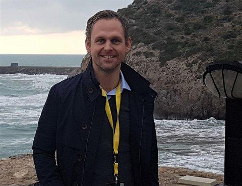 GLER SEG: Stig Kongsvik (33) gler seg til ultraløpet i juli, men er spent på om han greier å finne fram.