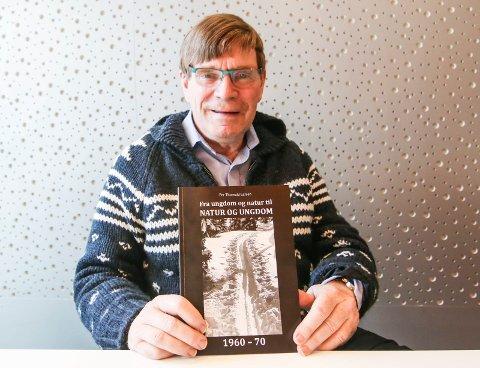 Fersk bok: Boken om tiden da Natur og ungdom ble til er samlet mellom to permer av Per Thorvald Larsen på Gressvik, selv aktiv på 60-tallet.