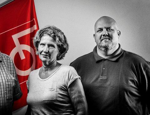 Det er få om ingen synlige spor av at LO-ledelsen, her representert ved Lisbeth Kristiansen og Vidar Schei, har støttet varslerne. Jeg vet at mange LO-medlemmer og andre vrir seg i ubehag og skuffelse over LOs manglende solidaritet i denne plagsomme saken for byen vår, skriver Henning Aall.