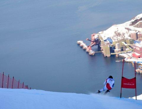 Bildet er fra NM i alpint i fjor.