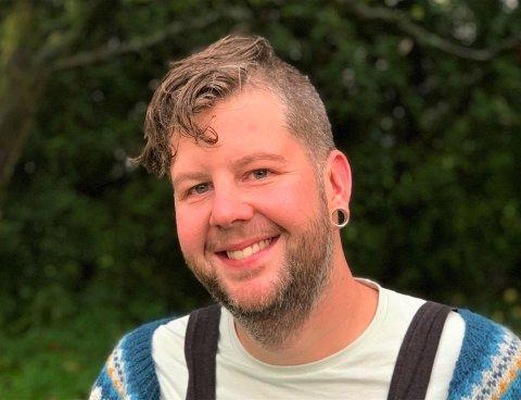HAR PLANER: Bent Frantzen Simonsen ønsker å bidra til at miljøet for skeive i Horten blir enda bedre.