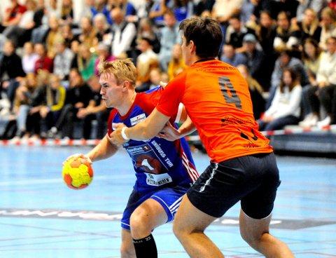 Anders Jensvoll var banenes beste da LFH 09 tapte med to mål mot Viking Håndball.