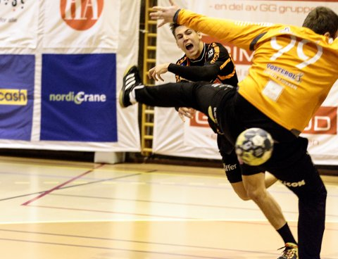 William Nilsen-Nygaard scoret på 11 av 12 skudd mot St. Hallvard.