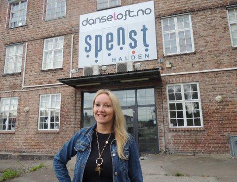 GLEDER SEG: Marianne Wallin Saxæther gleder seg til en ny høst i nye lokaler.
