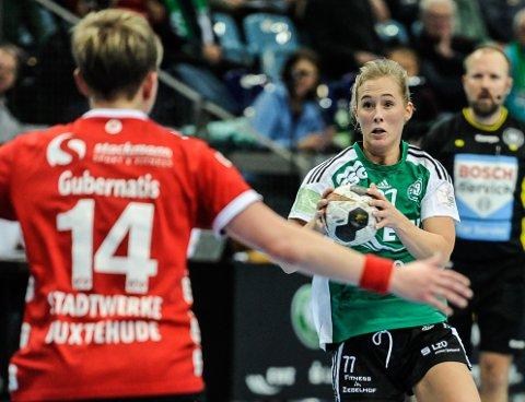 NY KLUBB?: Malene Staal blir i Oldenburg ut sesongen, men fra høsten kan det bli en annen tysk klubb for playmakeren fra Halden.