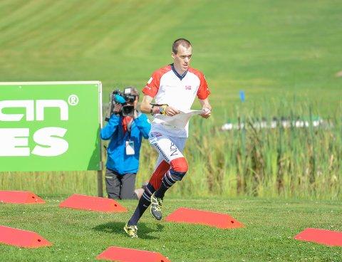 BRONSE: Magne Dæhli løp inn til bronse på langdistansen.