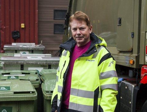 Renovasjonssjef: Jan Tore Knudsen er tilsett som verksemdleiar for renovasjon i Ullensvang kommune.Foto: Sondre Lingås Haukedal
