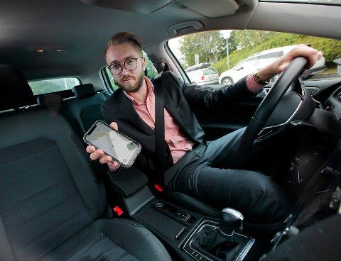 BETATEST: Den aller første versjonen av app-en Gobilly er allerede å finne i App Store/Play Store. Gründer Eirik Magnus Mjåseth har utviklet app-en som nå beta-testes.