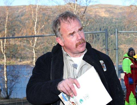 Irritert: Leder for Miljøvernforbundet , Kurt Oddekalv, var ikke i tvil om at saken måtte anmeldes. – De er nest verst i klassen. Det mangler bare gass, men på sikt vil det garantert komme, sier han.