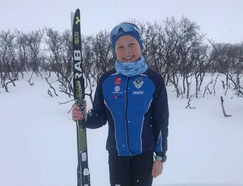 Elise Bredesen Øvereng ble nordnorsk mester i skøyting lørdag